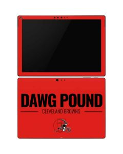 Cleveland Browns Team Motto Surface Pro 6 Skin