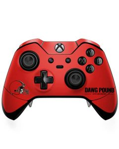 Cleveland Browns Team Motto Xbox One Elite Controller Skin