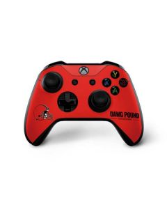Cleveland Browns Team Motto Xbox One X Controller Skin
