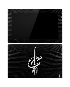 Cleveland Cavaliers Black Animal Print Surface Pro Tablet Skin