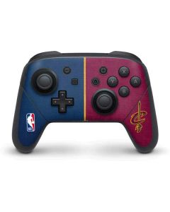 Cleveland Cavaliers Canvas Nintendo Switch Pro Controller Skin