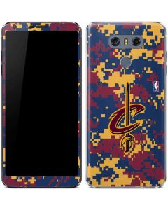 Cleveland Cavaliers Digi Camo LG G6 Skin