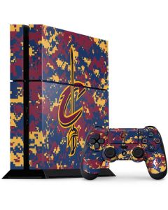 Cleveland Cavaliers Digi Camo PS4 Console and Controller Bundle Skin
