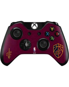 Cleveland Cavaliers Distressed Xbox One Controller Skin