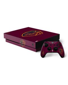 Cleveland Cavaliers Distressed Xbox One X Bundle Skin
