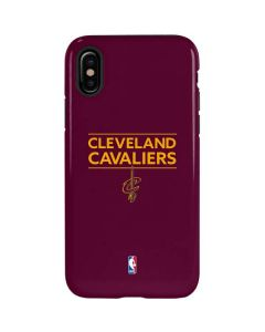 Cleveland Cavaliers Standard - Maroon iPhone XS Pro Case