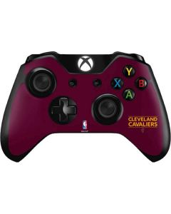 Cleveland Cavaliers Standard - Maroon Xbox One Controller Skin