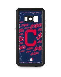 Cleveland Indians - Cap Logo Blast Galaxy S8 Plus Waterproof Case
