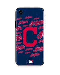 Cleveland Indians - Cap Logo Blast iPhone XR Skin