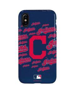 Cleveland Indians - Cap Logo Blast iPhone XS Pro Case