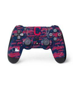 Cleveland Indians - Cap Logo Blast PS4 Controller Skin
