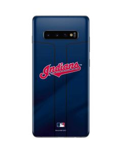 Cleveland Indians Alternate Road Jersey Galaxy S10 Plus Skin