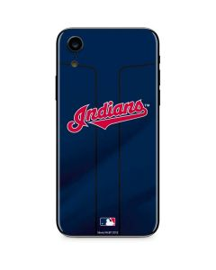 Cleveland Indians Alternate Road Jersey iPhone XR Skin