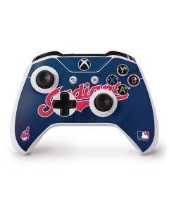 Cleveland Indians Alternate Road Jersey Xbox One S Controller Skin