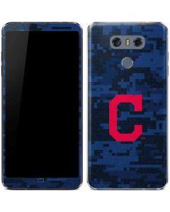 Cleveland Indians Digi Camo LG G6 Skin