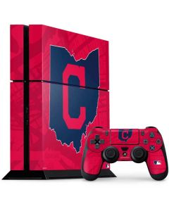 Cleveland Indians Home Turf PS4 Console and Controller Bundle Skin