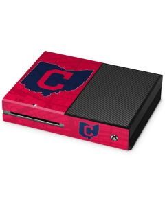 Cleveland Indians Home Turf Xbox One Console Skin