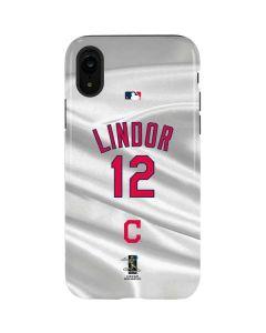 Cleveland Indians Lindor #12 iPhone XR Pro Case