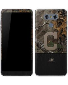 Cleveland Indians Realtree Xtra Camo LG G6 Skin