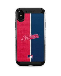 Cleveland Indians Split iPhone XS Max Cargo Case