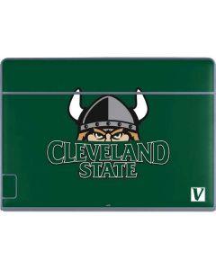 Cleveland State Green Galaxy Book Keyboard Folio 12in Skin