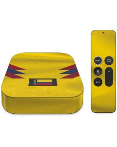 Colombia Soccer Flag Apple TV Skin
