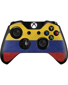 Colombia Flag Distressed Xbox One Controller Skin