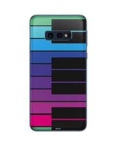 Color Piano Keys Galaxy S10e Skin