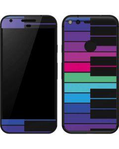 Color Piano Keys Google Pixel Skin