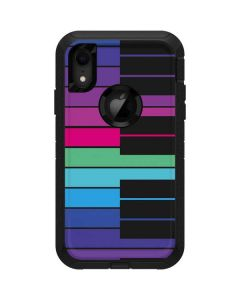 Color Piano Keys Otterbox Defender iPhone Skin