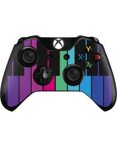 Color Piano Keys Xbox One Controller Skin
