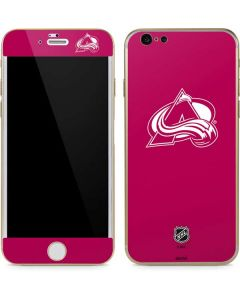Colorado Avalanche Color Pop iPhone 6/6s Skin