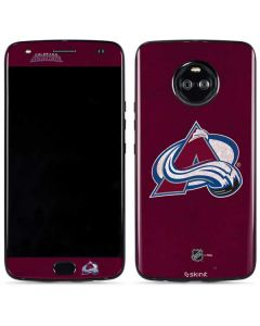 Colorado Avalanche Distressed Moto X4 Skin