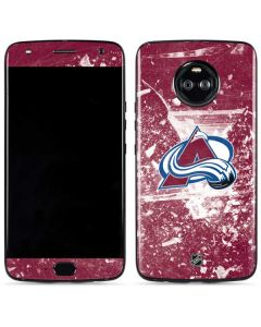 Colorado Avalanche Frozen Moto X4 Skin
