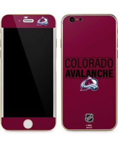 Colorado Avalanche Lineup iPhone 6/6s Skin