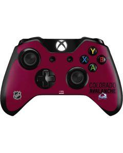 Colorado Avalanche Lineup Xbox One Controller Skin