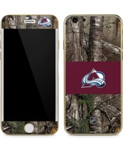 Colorado Avalanche Realtree Xtra Camo iPhone 6/6s Skin