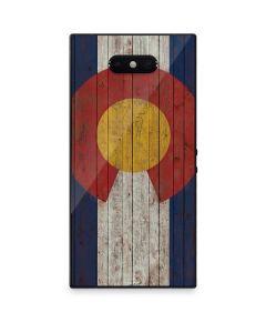Colorado Flag Dark Wood Razer Phone 2 Skin
