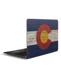 Colorado Flag Dark Wood Zenbook UX305FA 13.3in Skin