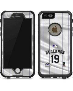 Colorado Rockies Blackmon #19 iPhone 6/6s Waterproof Case