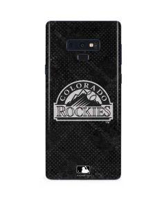 Colorado Rockies Dark Wash Galaxy Note 9 Skin