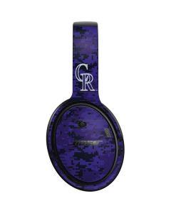 Colorado Rockies Digi Camo Bose QuietComfort 35 Headphones Skin