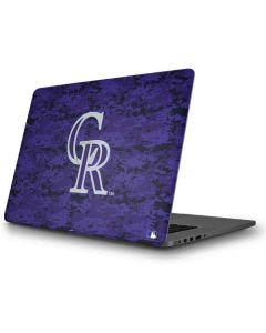 Colorado Rockies Digi Camo Apple MacBook Pro Skin