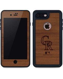 Colorado Rockies Engraved iPhone 8 Plus Waterproof Case