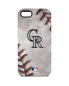 Colorado Rockies Game Ball iPhone 5/5s/SE Pro Case