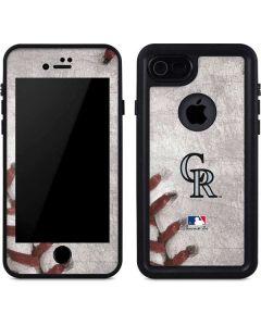Colorado Rockies Game Ball iPhone 8 Waterproof Case