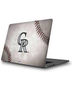 Colorado Rockies Game Ball Apple MacBook Pro Skin