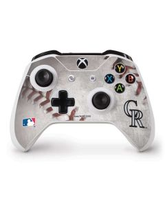 Colorado Rockies Game Ball Xbox One S Controller Skin