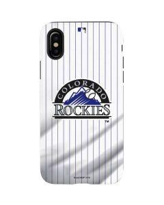 Colorado Rockies Home Jersey iPhone X Pro Case