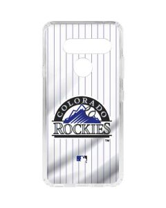 Colorado Rockies Home Jersey LG V40 ThinQ Clear Case